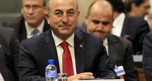 Turkish Foreign Minister Mevlut Cavusoglu attends the Conference on Cyprus at the European headquarters of the United Nations in Geneva, Switzerland, January 12, 2017. REUTERS/Pierre Albouy - RTX2YM77