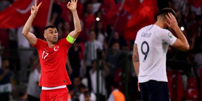 Turkey Wins 2-0  Against France